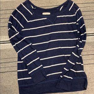 Nautical Striped shirt 3/25$